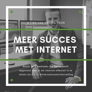 Meer succes met internet